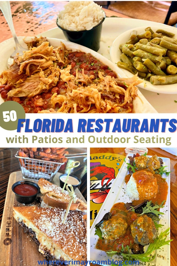florida restaurants with patios