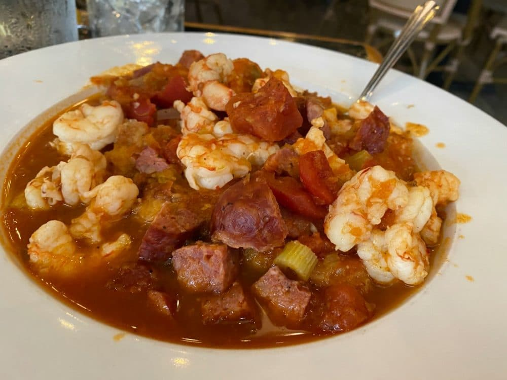 hog island fish camp jambalaya