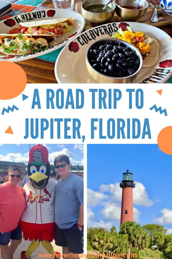 road trip to Jupiter florida