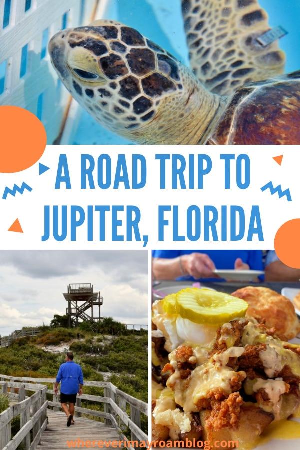 road trip to Jupiter, fl