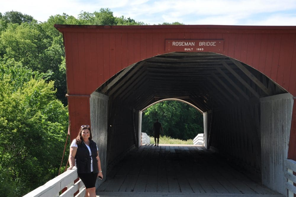 roseman covered bridge iowa