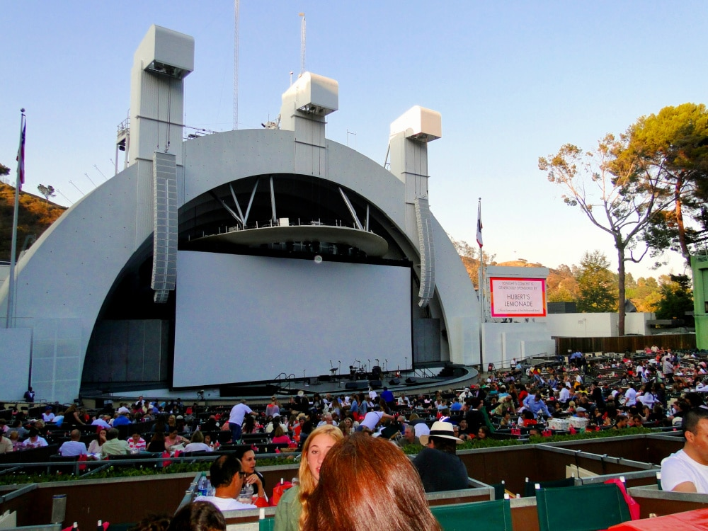 the hollywood bowl stage