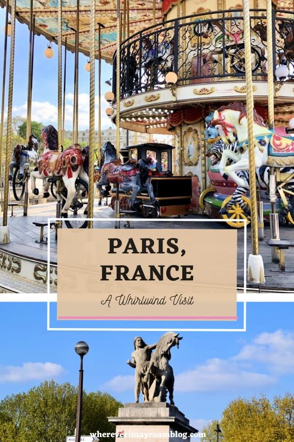 a visit to Paris, France