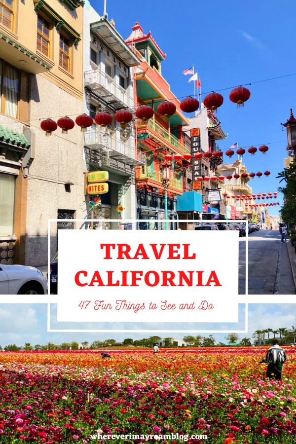 47 fun things to do in CA