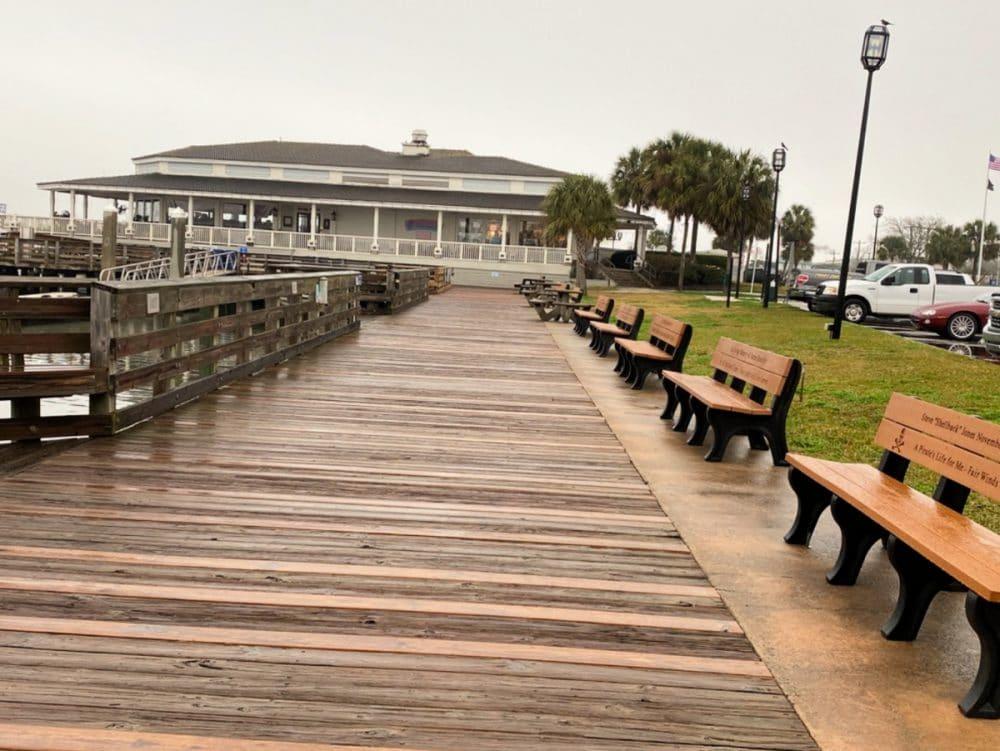 Fernandina Beach boardwalk
