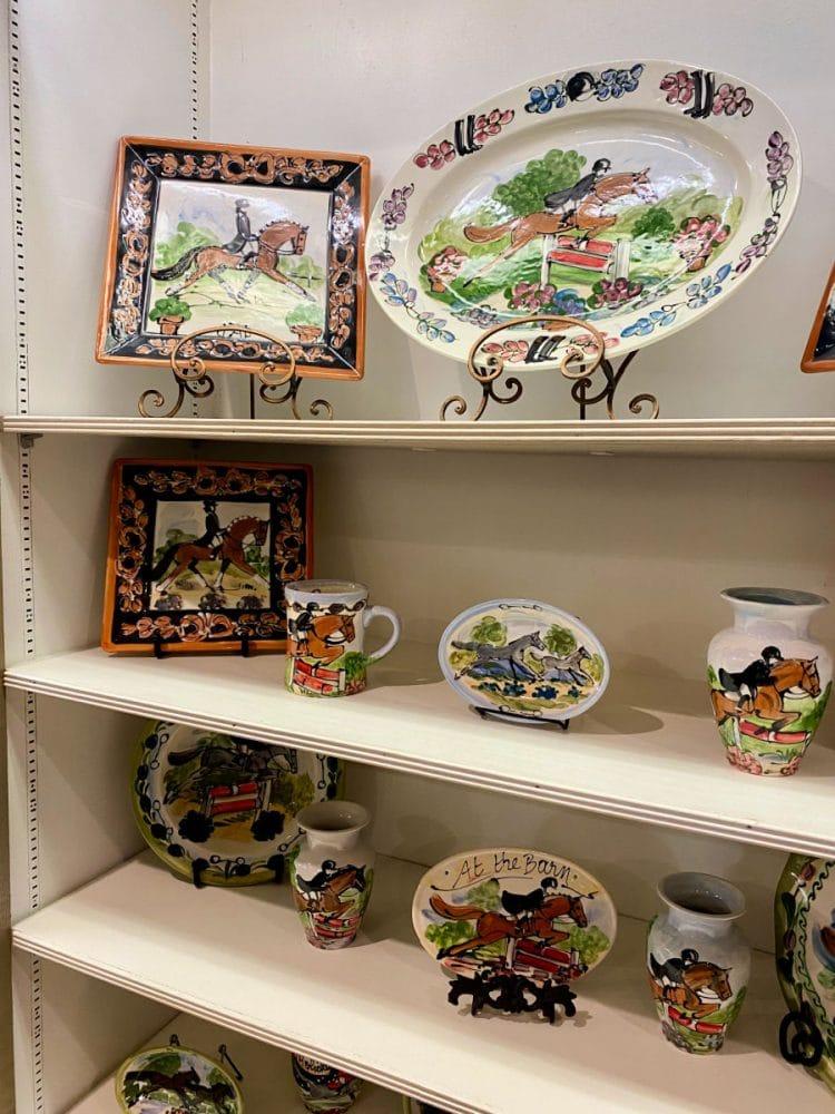 horse-pottery
