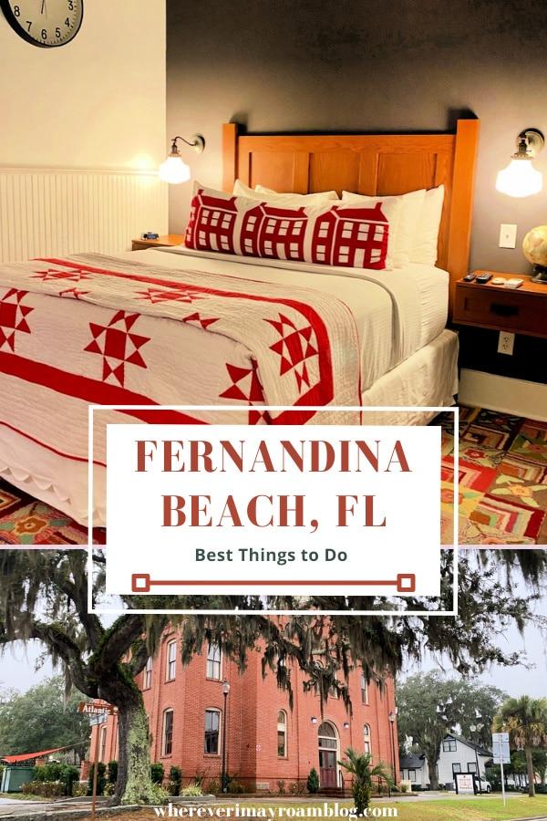 best things to do at Fernandina Beach, FL