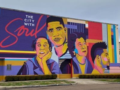 city with soul mural