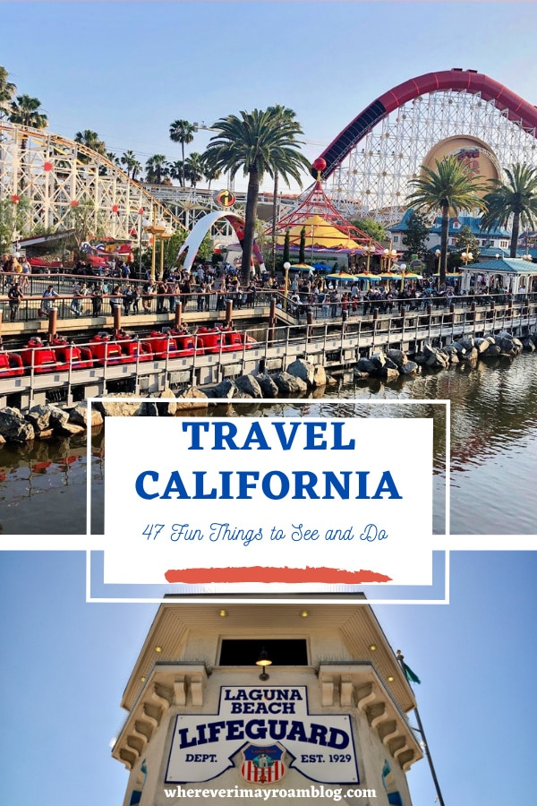 fun things to do in California
