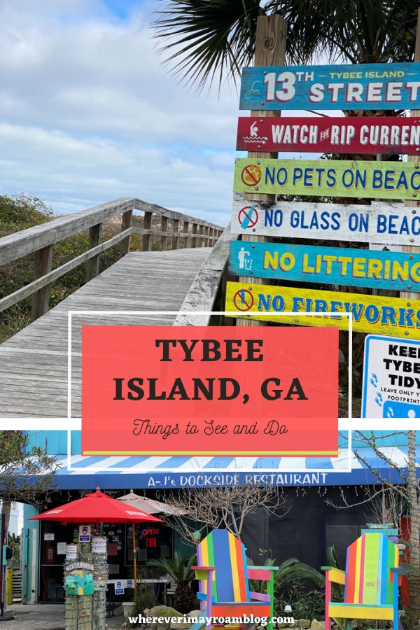 things to see and do in Tybee island, georgia