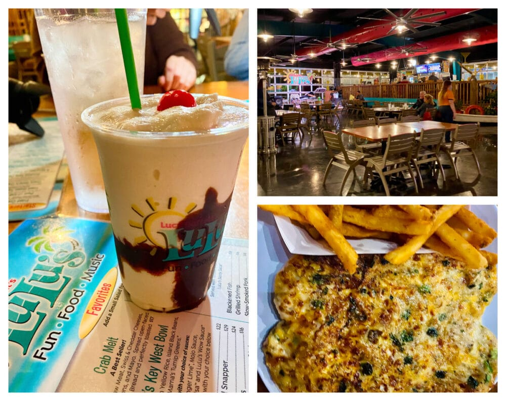 lucy-buffetts-lulus-drinks-and-crab-melt