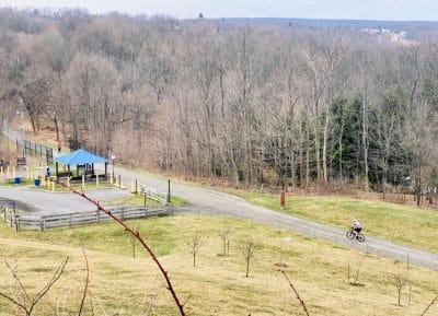 allegheny trail bike riding