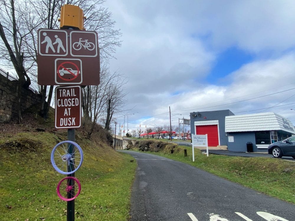 bike trail in beckley