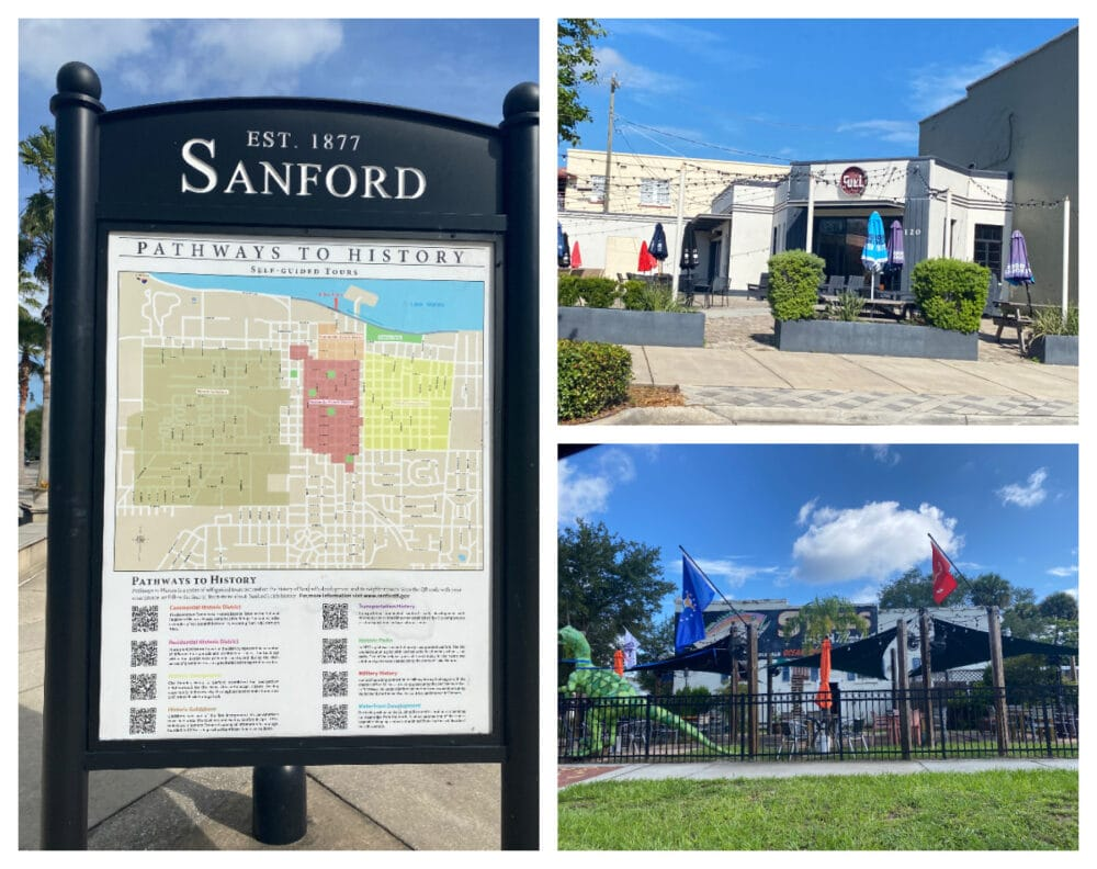 downtown-sanford-restaurants-and-signage