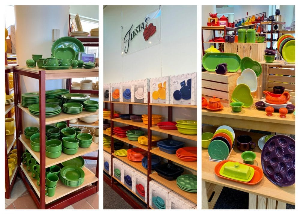 fiesta ware dishes made in West Virginia