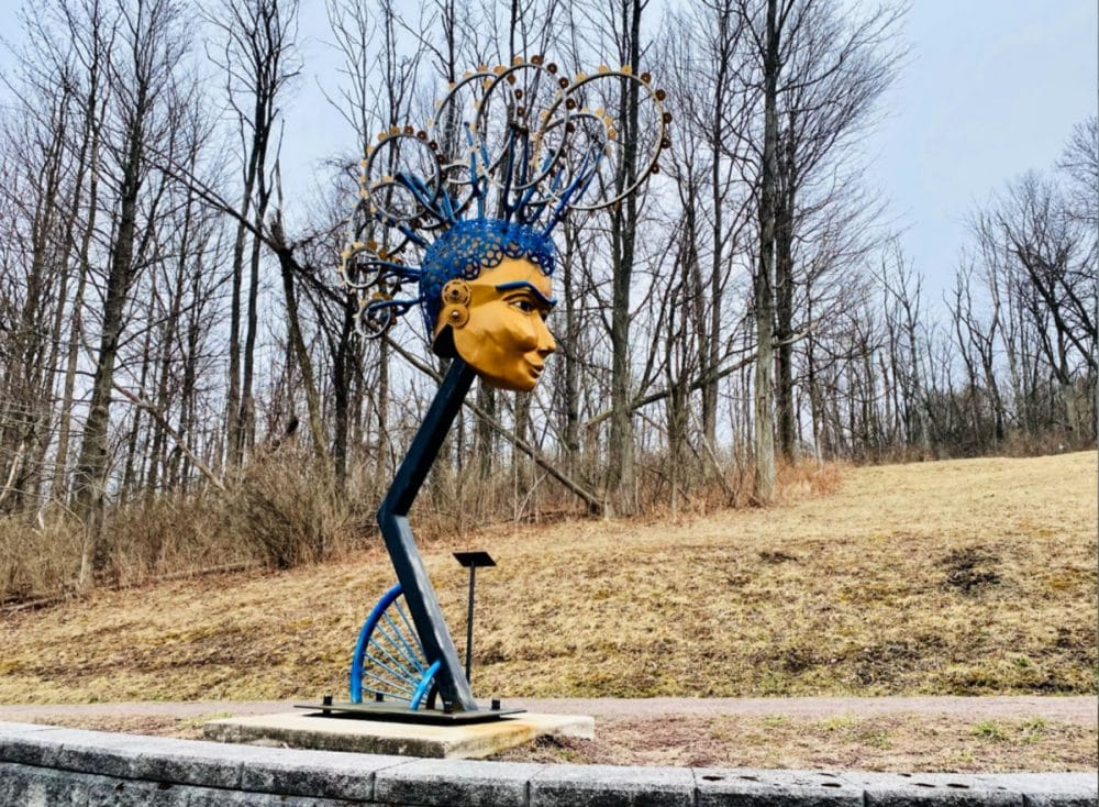 frostburg sculpture trail