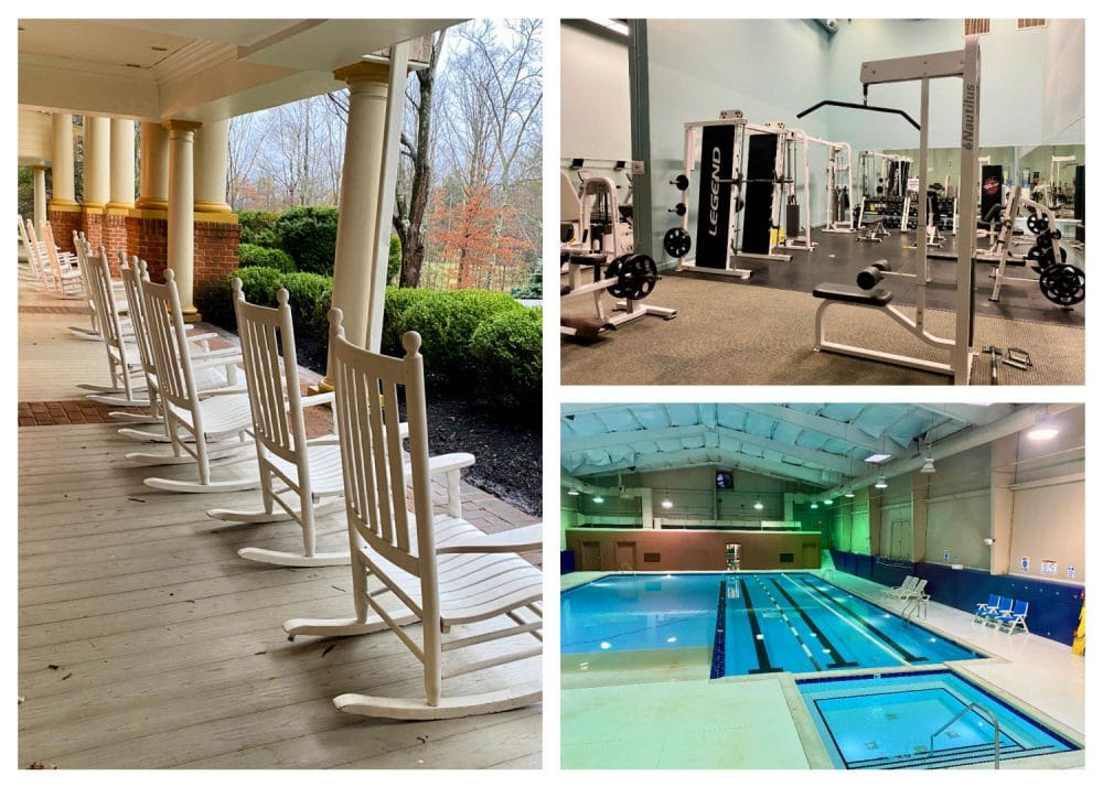 resort at glade springs swimming pool and exercise room