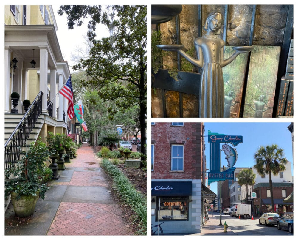 Downtown-Savannah-streets-and-signs