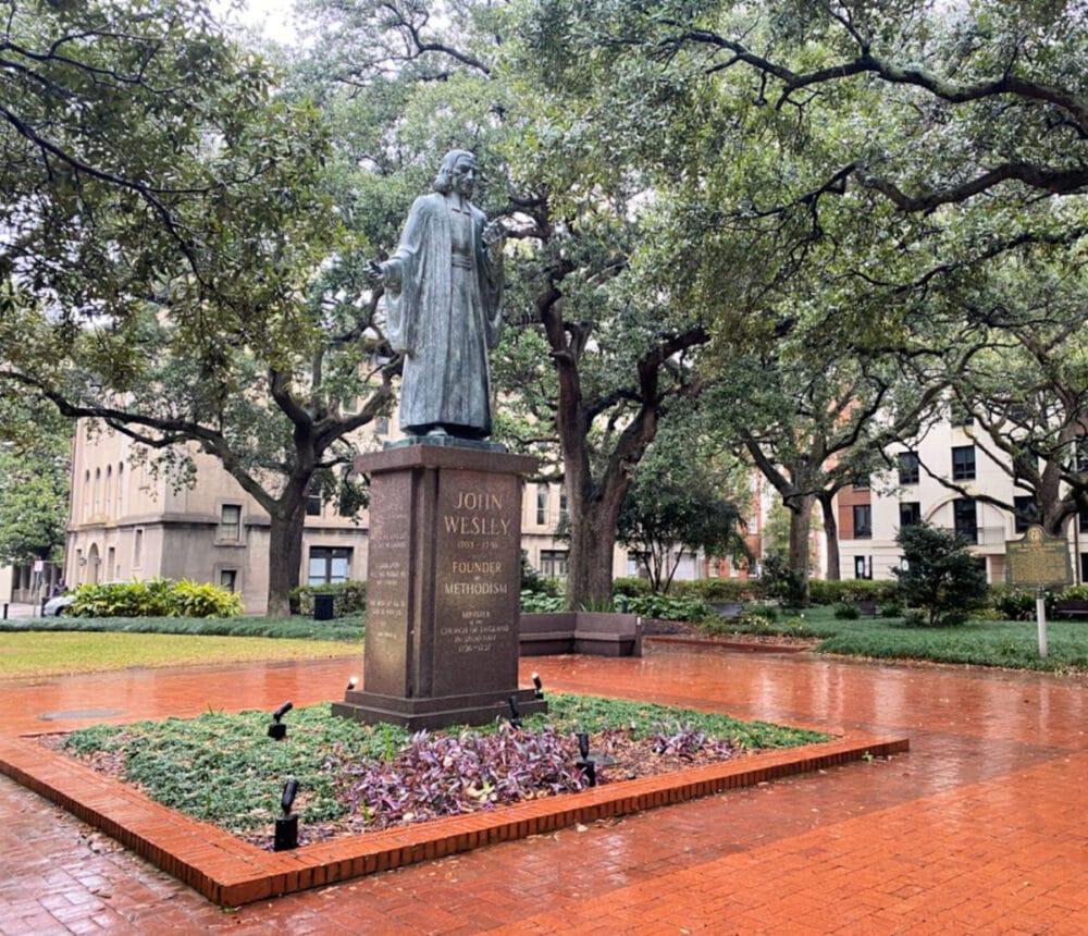John-Wesley-monument
