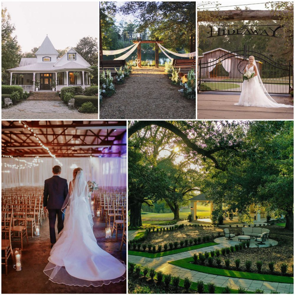 best wedding venues in Mississippi collage