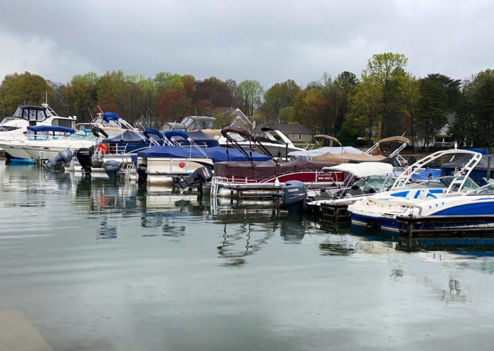 boats-at-Lake-Norman-North-Carolina