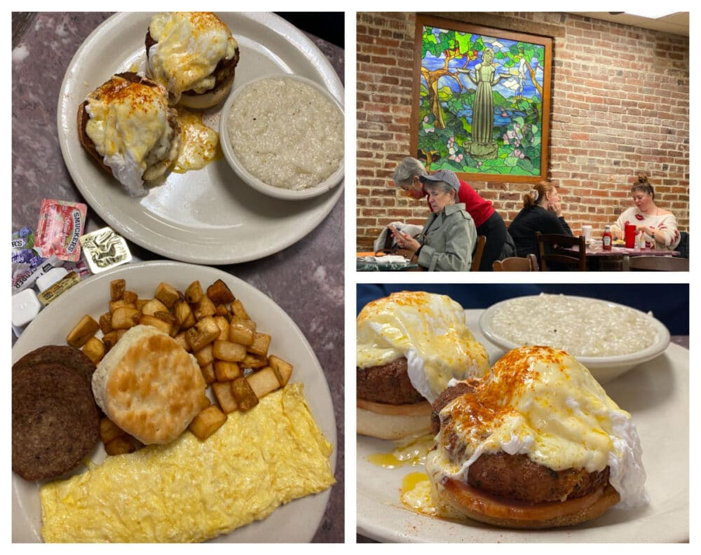 clary's-cafe-breakfast-omelet-and-Benedict