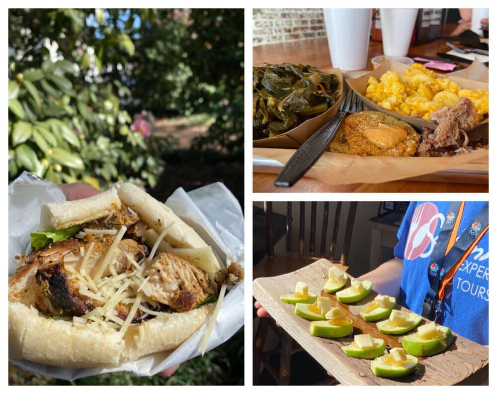 savannah-food-tour-dishes-and-samples