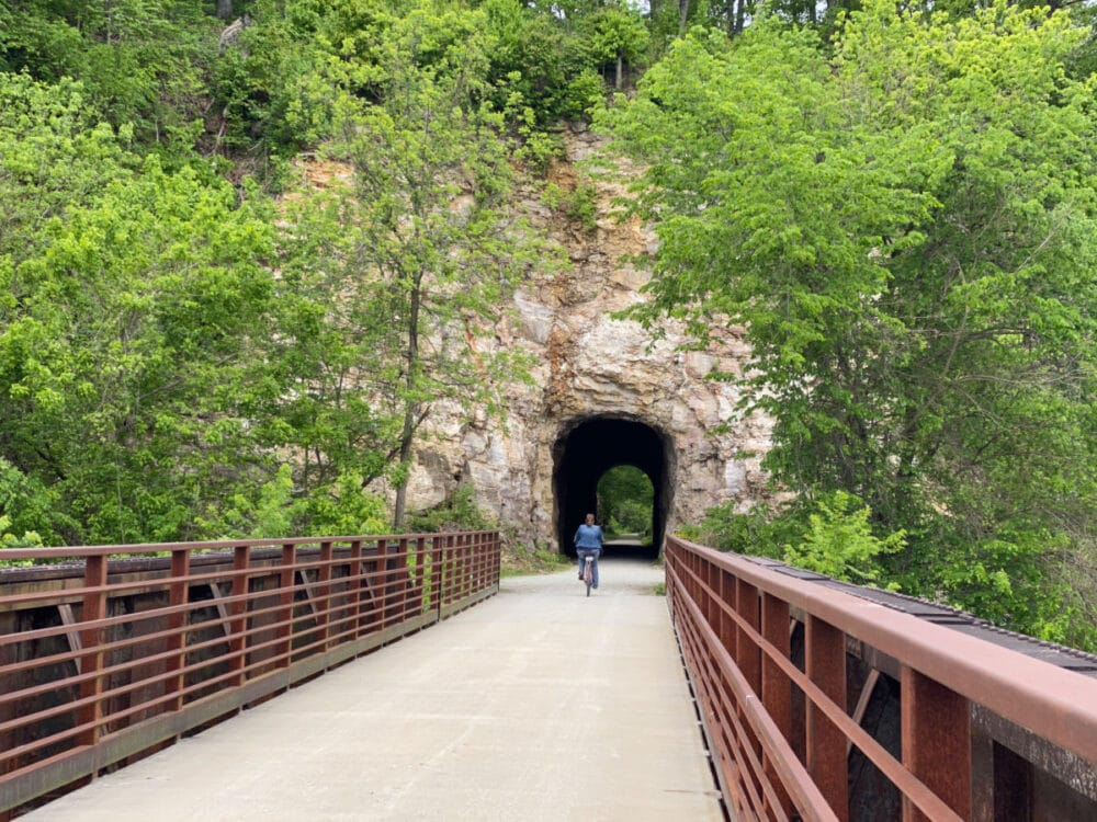 biking -on-the-katy-trail-with-a-cave