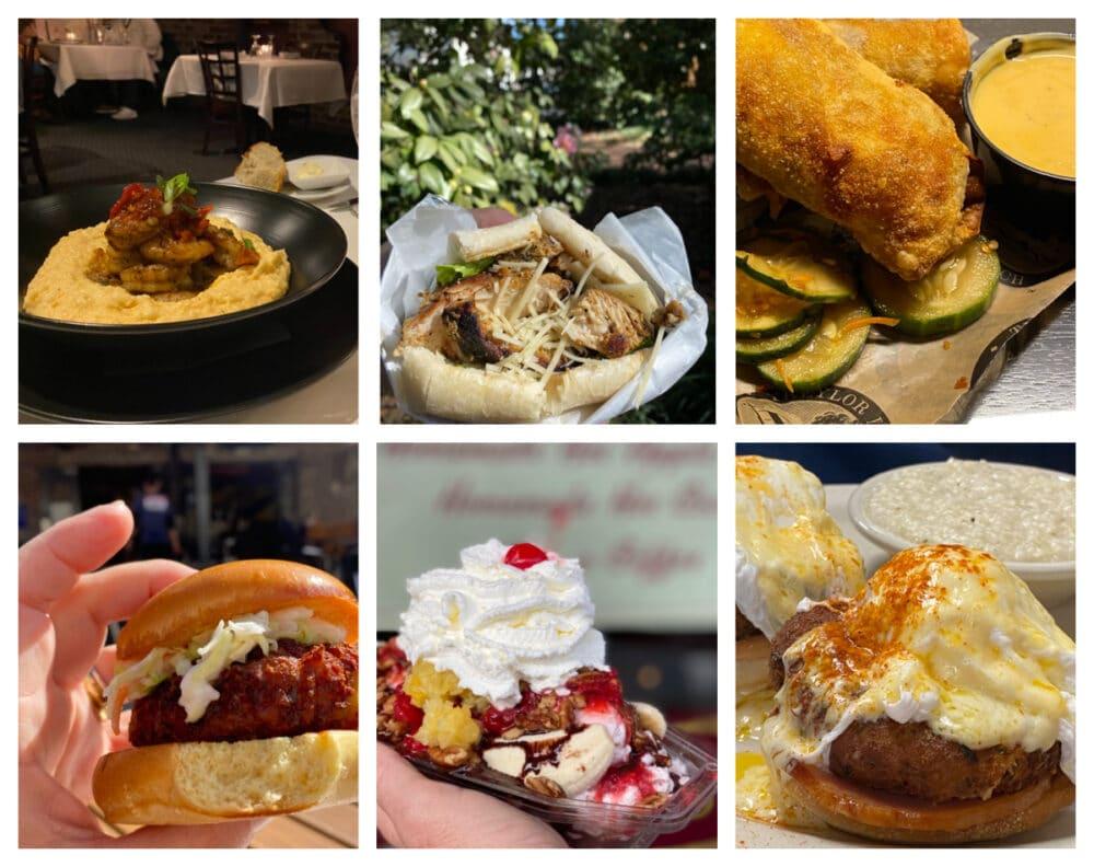 collage-of-savannah-georgia-foods
