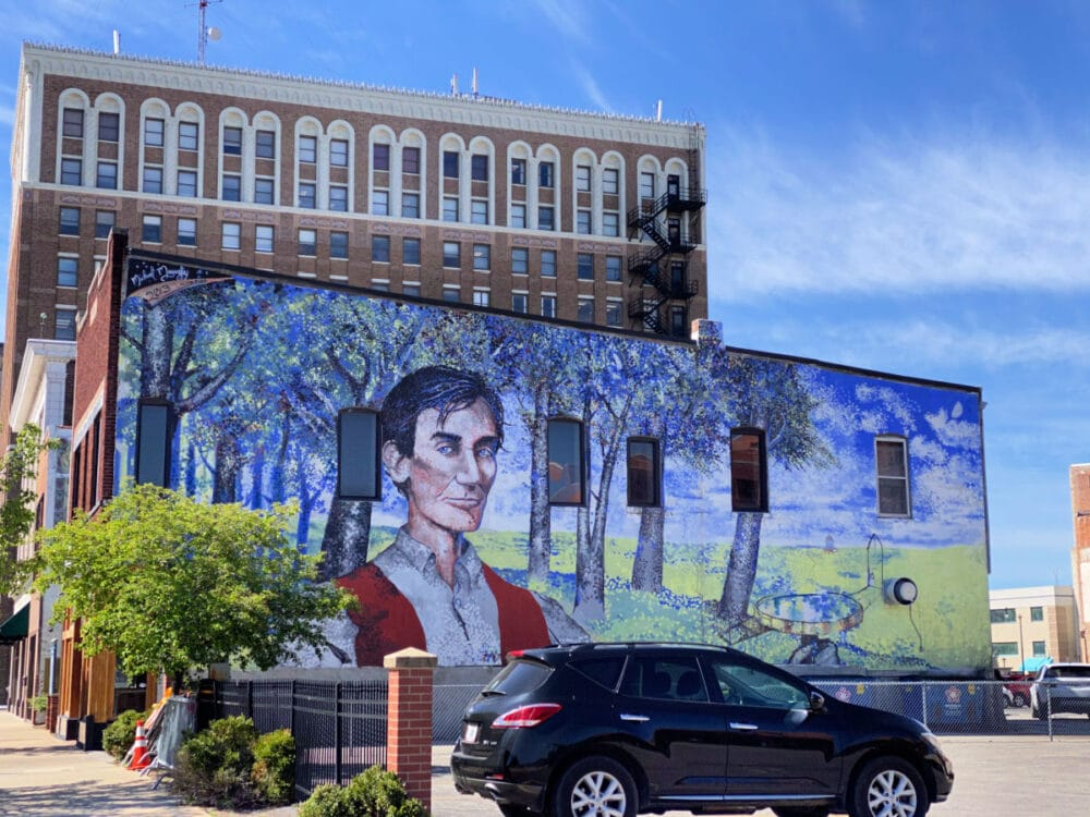 young Lincoln-mural-in-springfield