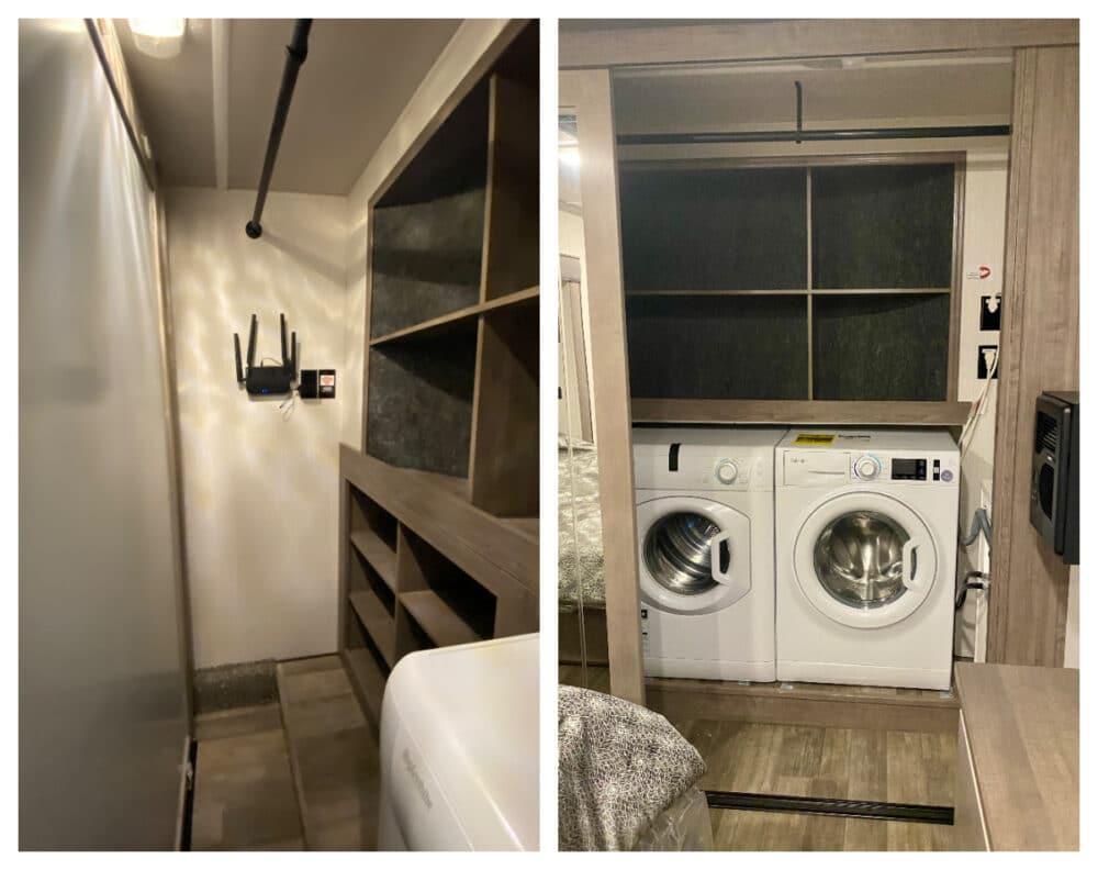 closet-with-washer-and-dryer-cedar-creek-291rw-rv