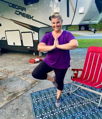 melody-doing-yoga