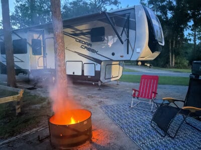 wherever-I-may-roll-campsite-with-fire